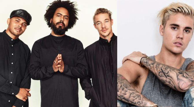 "Major Lazer e Justin Bieber: ascolta ""Cold Water"""