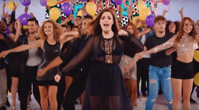 "Annalisa ballerina nel video di ""Used To You"""