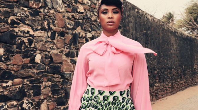 "Imany in radio con ""Silver Lining (Clap Your Hands)"""