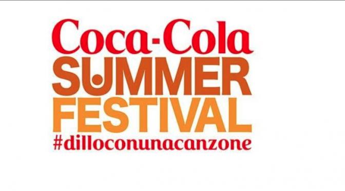 Coca-Cola Summer Festival: il 25, 26, 27 e 30 giugno a Roma. A luglio su Canale 5 con Alessia Marcuzzi e Rudy Zerbi