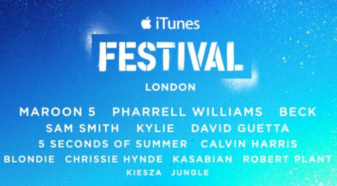 Parata di stelle per iTunes Festival 2014: dai Maroon 5 a Kylie e David Guetta