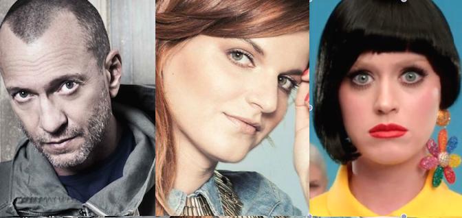 Antonacci, Chiara e Katy Perry tra le novità in radio oggi