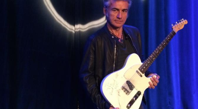 Ligabue, la sua chitarra entra nella collezione Hard Rock International