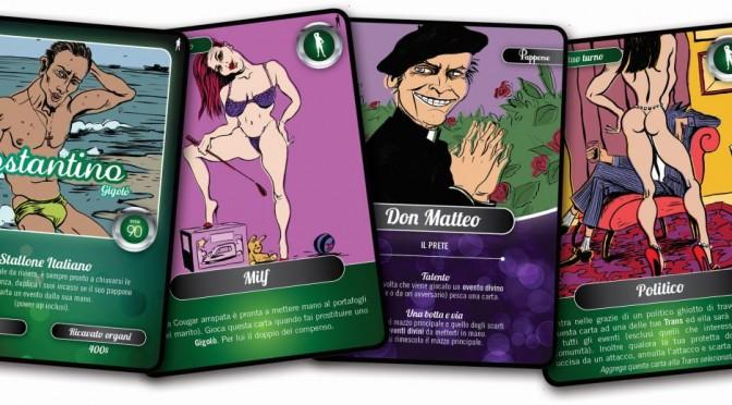 """Immanuel Casto: arriva """"Marchettari sprovveduti"""", gioco di carte sulla prostituzione maschile"""