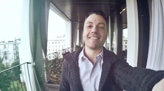 """Tiziano Ferro, video-selfie per """"Incanto"""""""