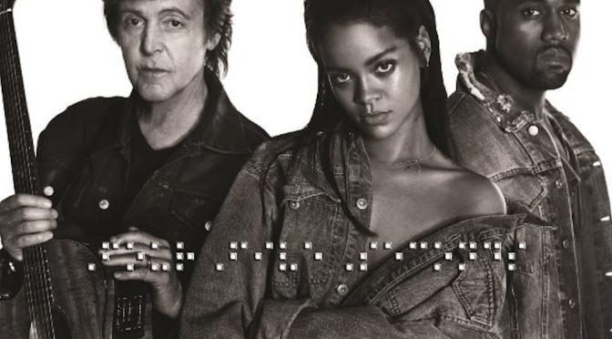 "Rihanna, Kanye e McCartney: video di ""Four Five Seconds"". Domenica ai Grammy"