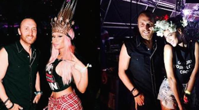 David Guetta al Coachella con Minaj e Beyoncé