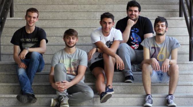Gli Spritz For Five a Milano per presentare l'EP d'esordio