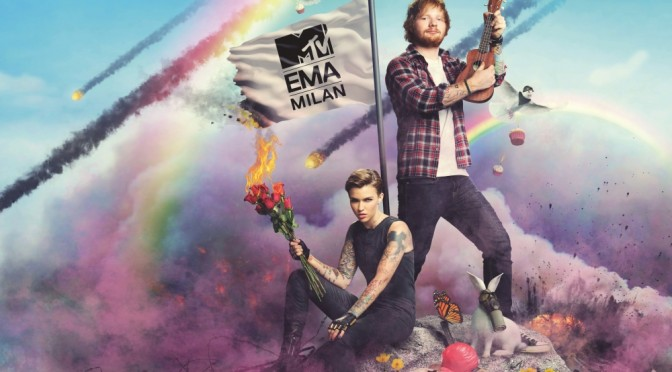 MTV EMA 2015: conducono Ed Sheeran e Ruby Rose
