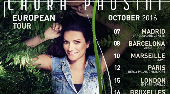 "Laura Pausini: ""Simili European Tour"" da ottobre 2016"