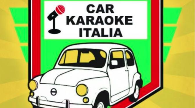 Car Karaoke Italia: gli artisti cantano in auto