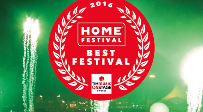 Home premiato agli Onstage Awards come miglior Festival