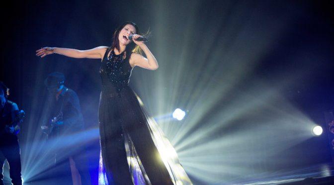 Laura Pausini: 25 maggio a Imola data zero del tour