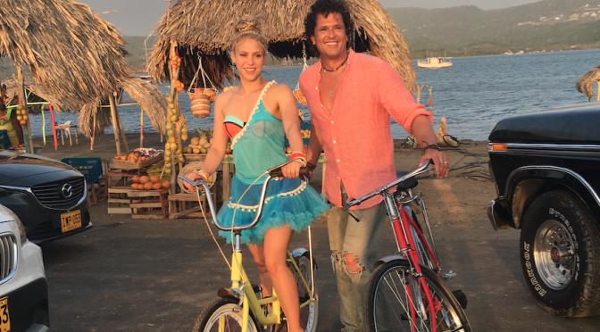 "Shakira e Carlos Vives: arriva oggi ""La bicicleta"""